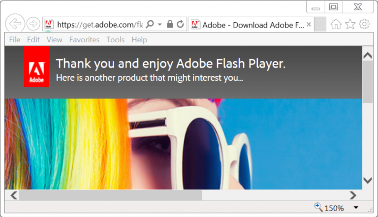 adobe-thank-you-stranica