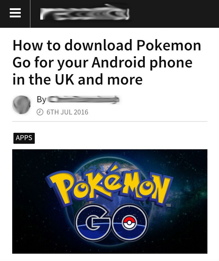 How to install Pokemon Go