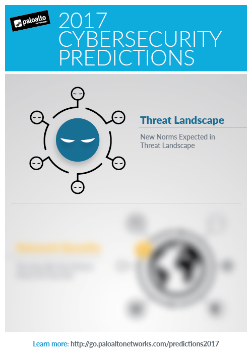 Palo Alto Networks cyber security predictions infographic