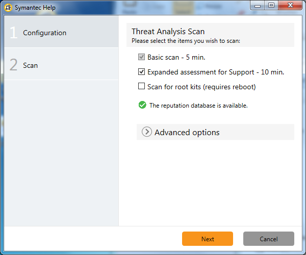 Threat Analysis Configuration